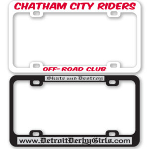 License Plate Frames (Silk Screened) (PW-705 – PW-706)