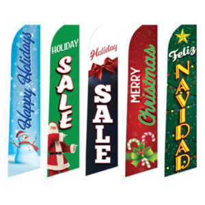 PW-843H Holiday Flags for Tall Flag and Pole Kits