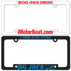 License Plate Frames (Silk Screened) (PW-713 – PW-714)