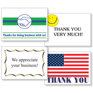 PW-350 Thank You Postcards