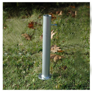 PW-610 Ground Mount Flagpole Holder